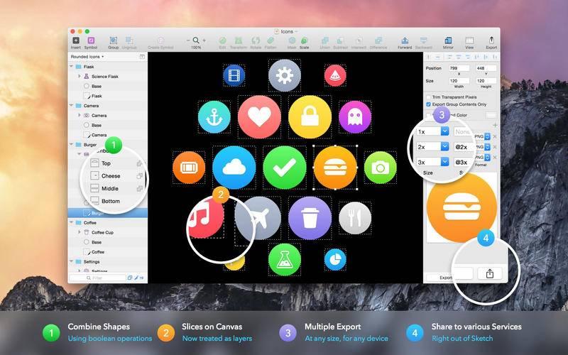 Sketch 41 for Mac 41 破解版 - Mac上专业的矢量绘图工具